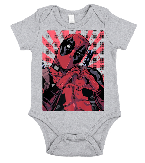 deadpool-closed-hand-heart-baby-onesies