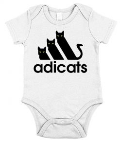 BLACK Adi-Cats-Onesie