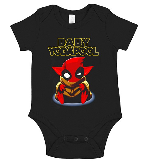 Baby Yoda Pool Onesie